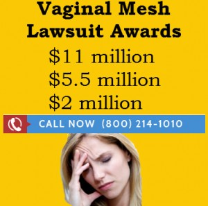 vaginal mesh settlements