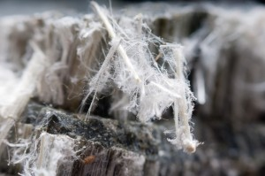 asbestos particles in homes