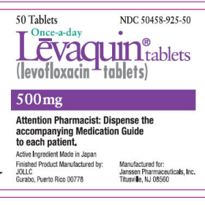 Levaquin lawsuit claims