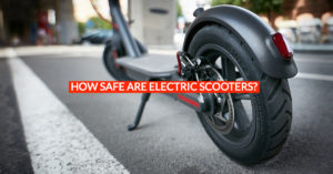 Are electric scooters safe?